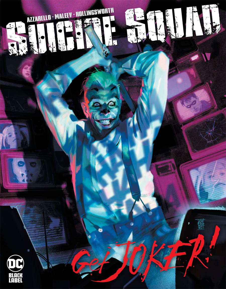 Suicide Squad Get Joker #1 Cover A Regular Alex Maleev Cover