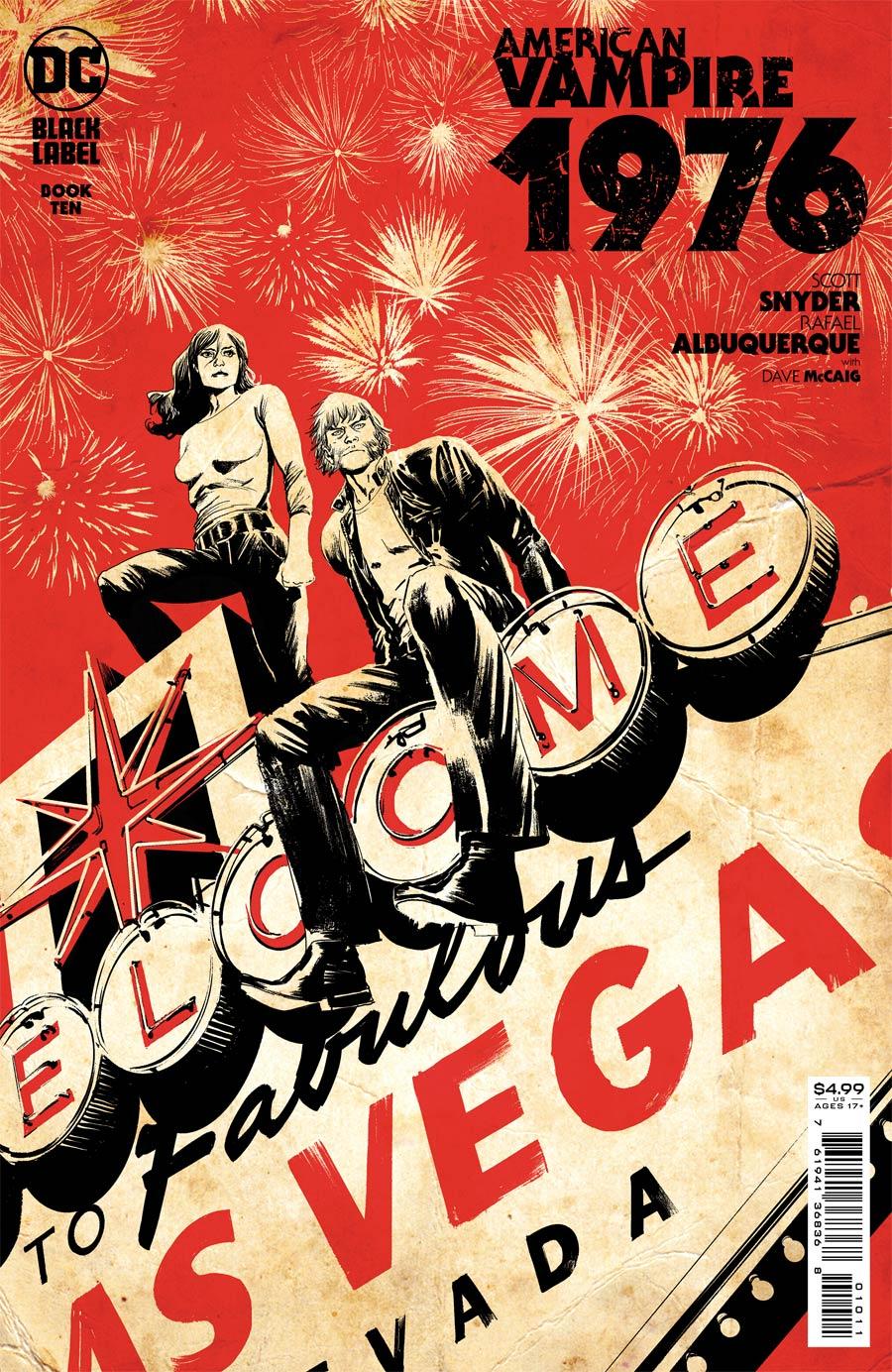 American Vampire 1976 #10 Cover A Regular Rafael Albuquerque Cover