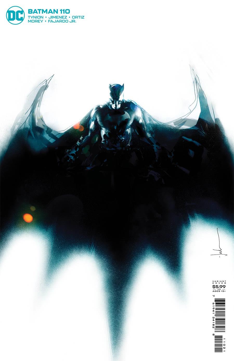 Batman Vol 3 #110 Cover B Variant Jock Card Stock Cover