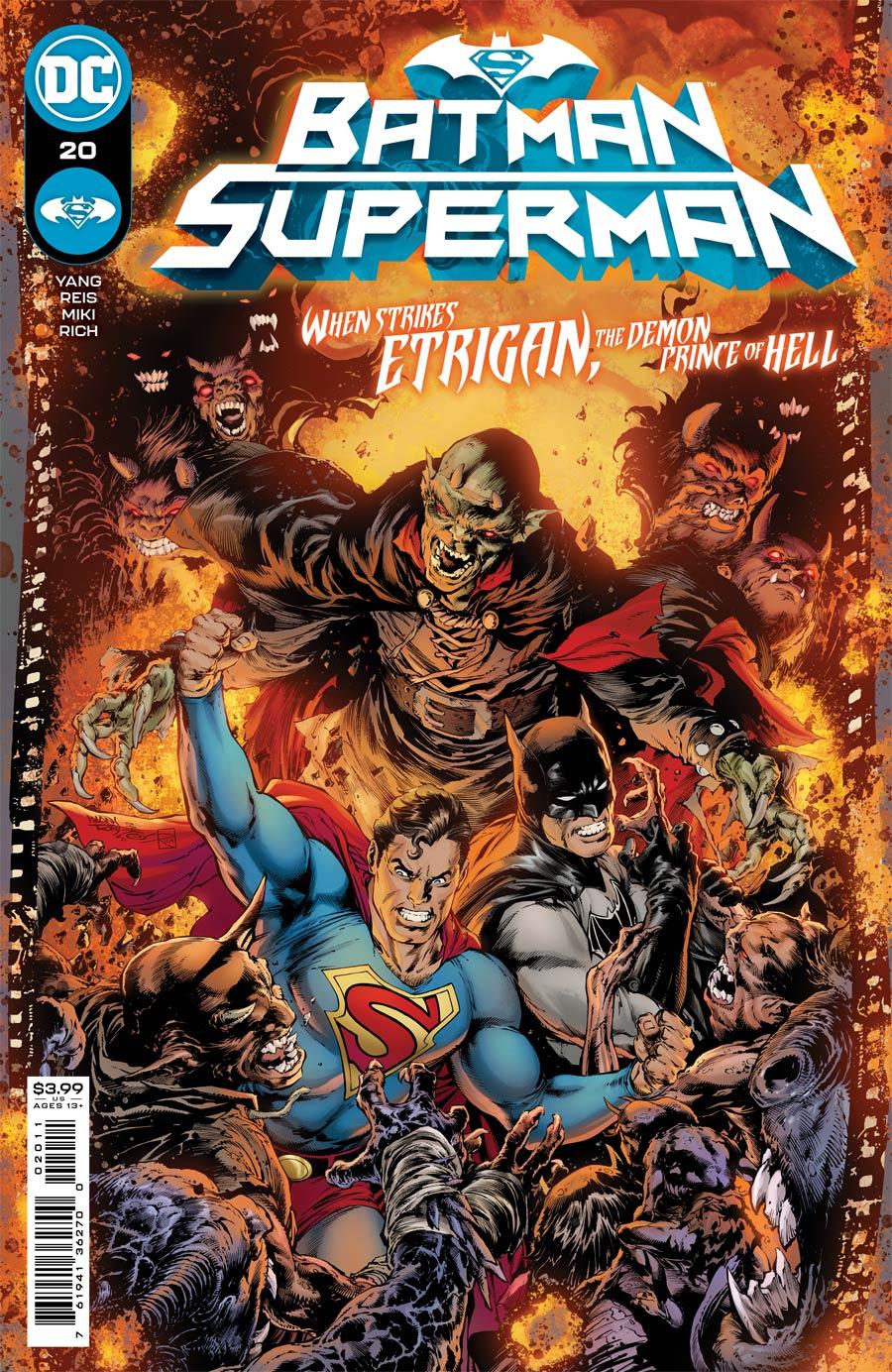 Batman Superman Vol 2 #20 Cover A Regular Ivan Reis & Danny Miki Cover