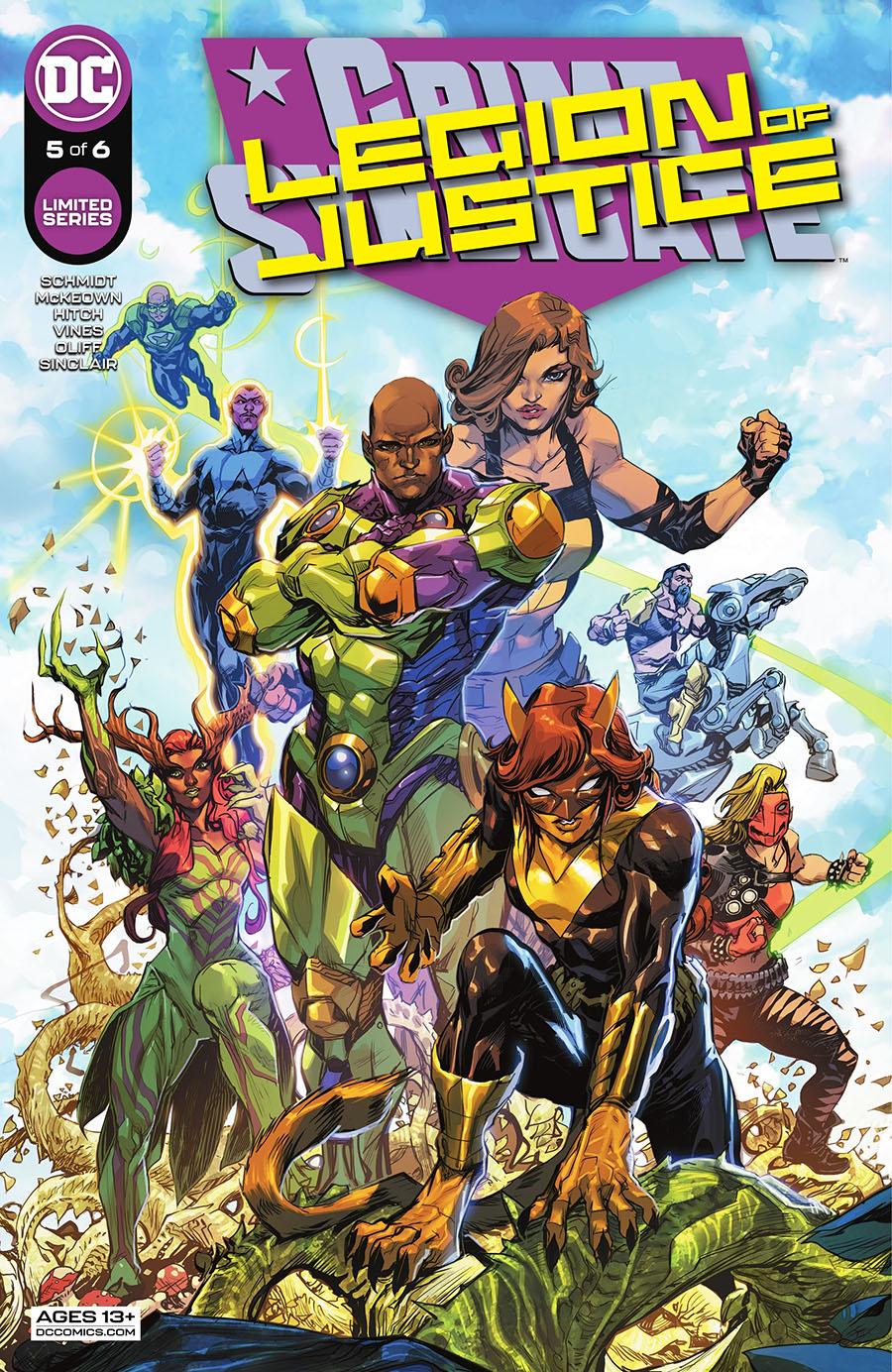 Crime Syndicate #5 Cover A Regular Howard Porter Cover