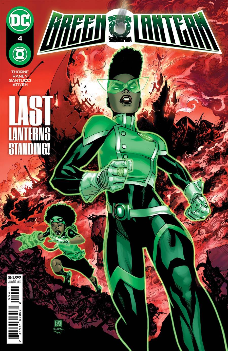 Green Lantern Vol 7 #4 Cover A Regular Bernard Chang Cover