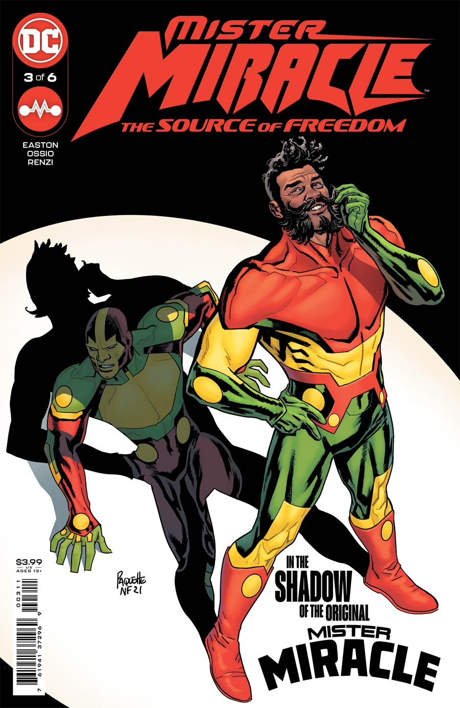 Mister Miracle The Source Of Freedom #3 Cover A Regular Yanick Paquette Cover