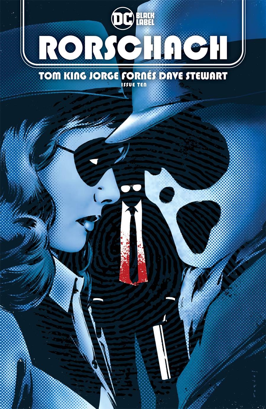 Rorschach #10 Cover A Regular Jorge Fornes Cover