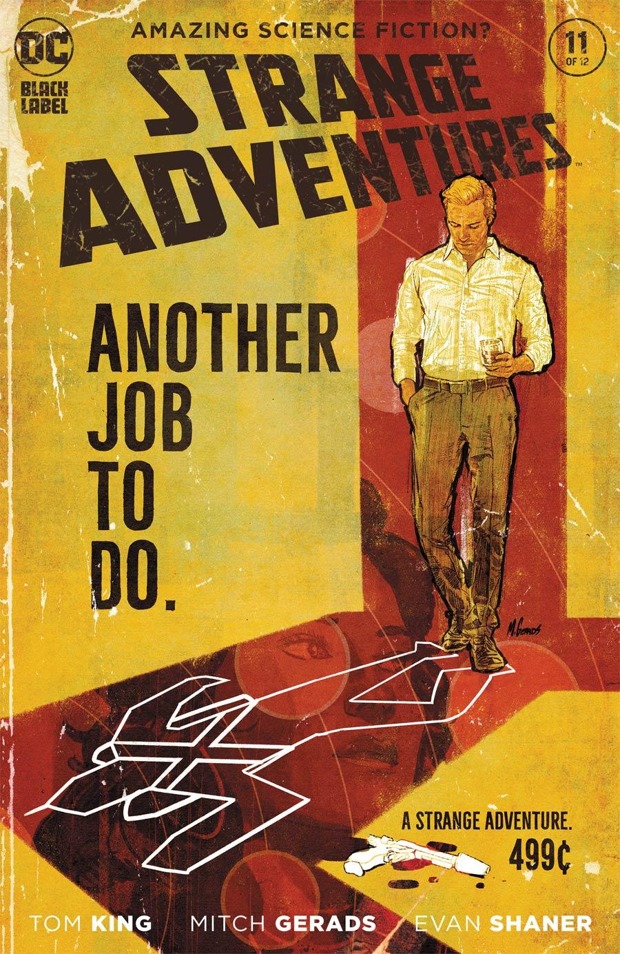 Strange Adventures Vol 4 #11 Cover A Regular Mitch Gerads Cover