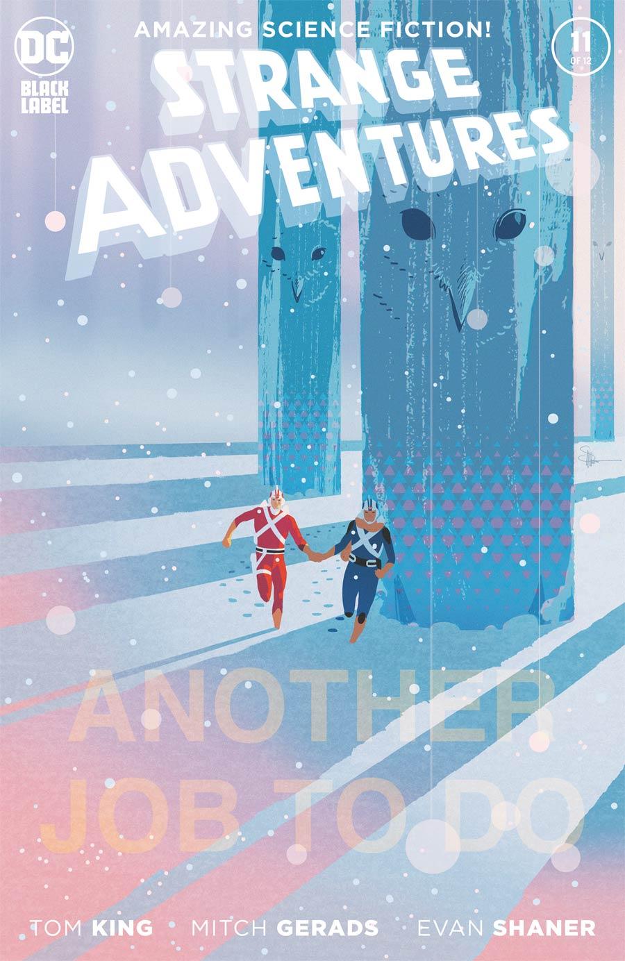 Strange Adventures Vol 4 #11 Cover B Variant Evan Doc Shaner Cover