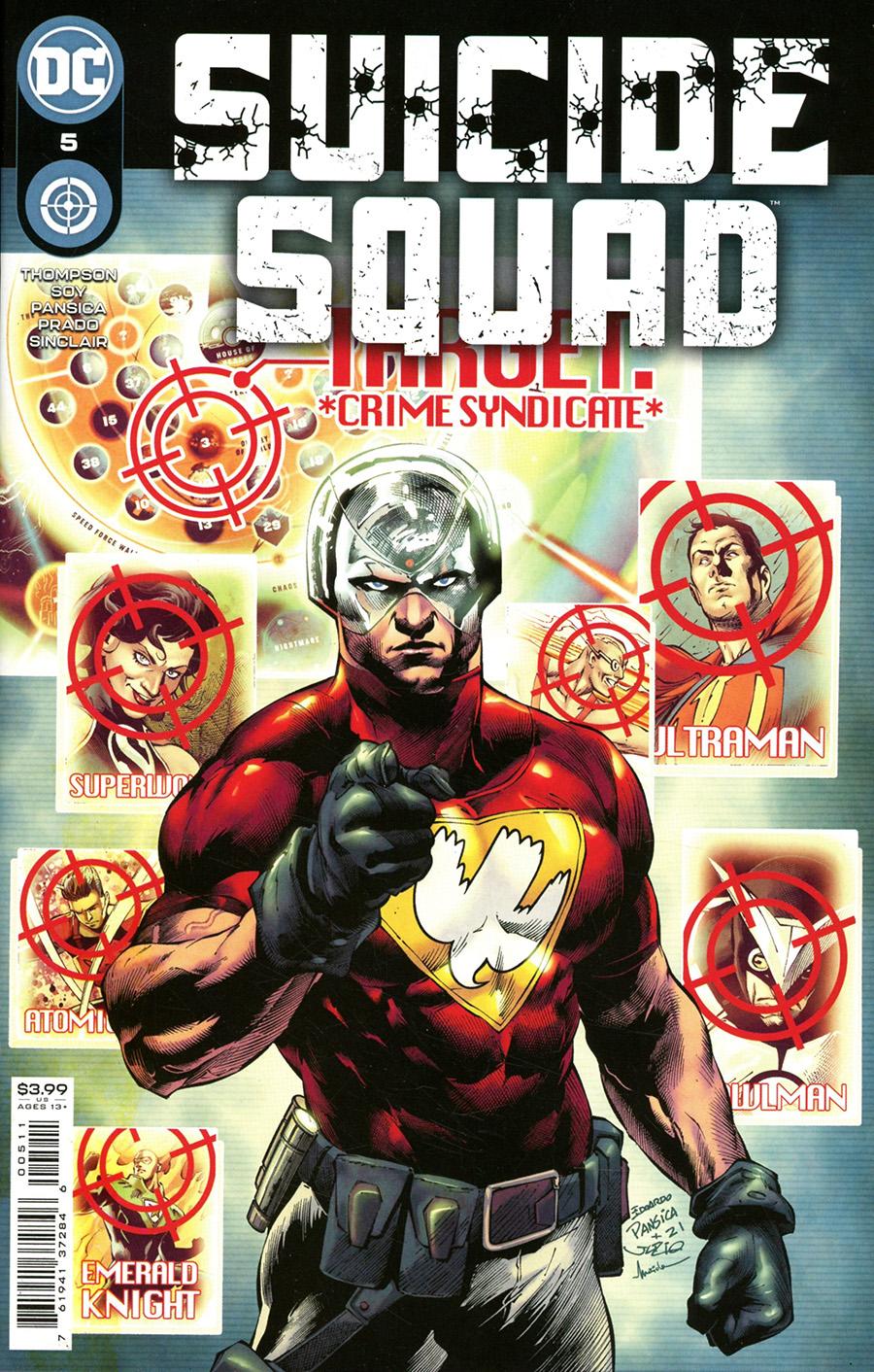 Suicide Squad Vol 6 #5 Cover A Regular Eduardo Pansica Cover