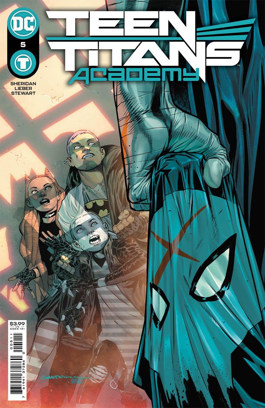 Teen Titans Academy #5 Cover A Regular Rafa Sandoval Cover