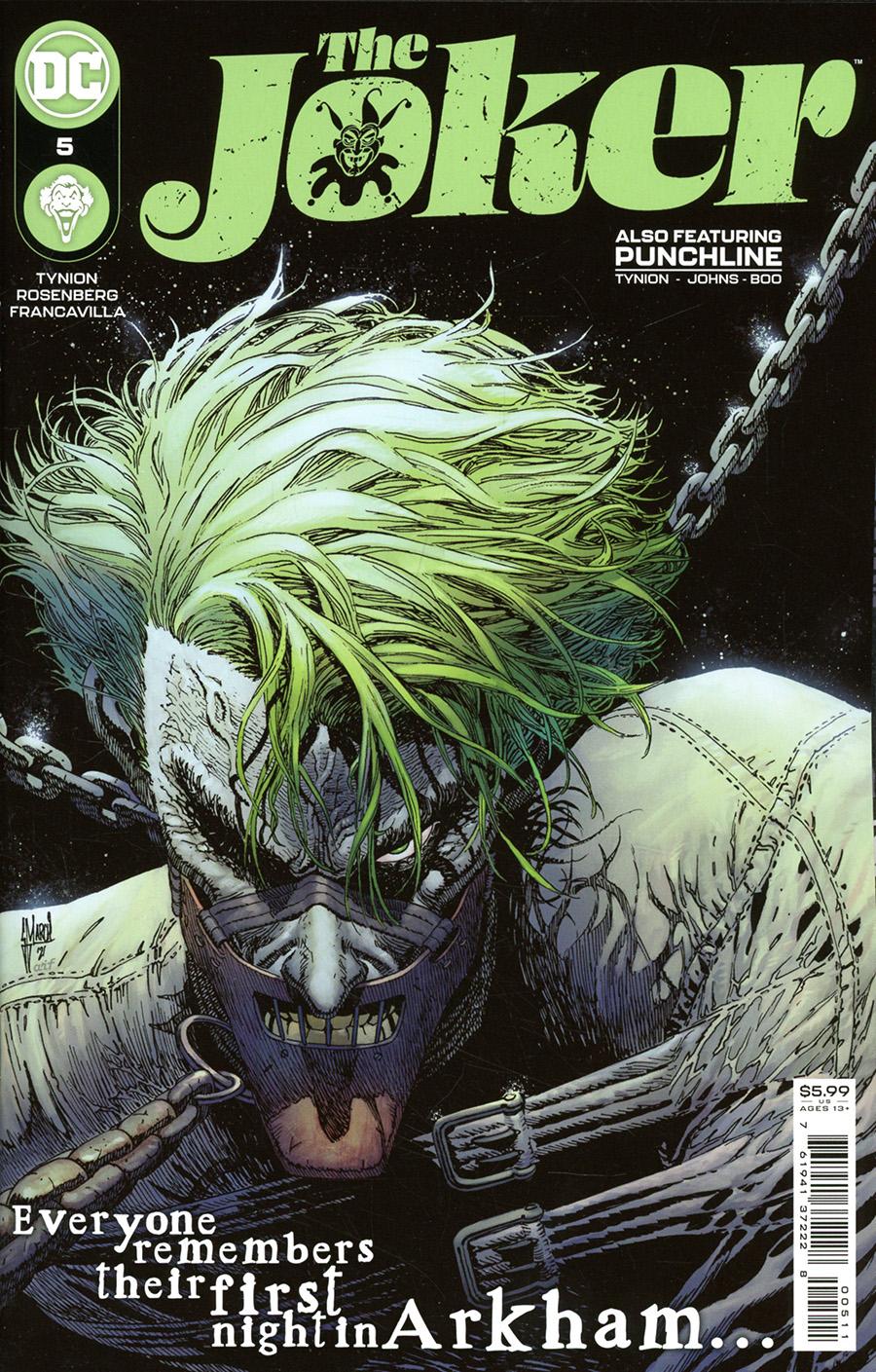 Joker Vol 2 #5 Cover A Regular Guillem March Cover