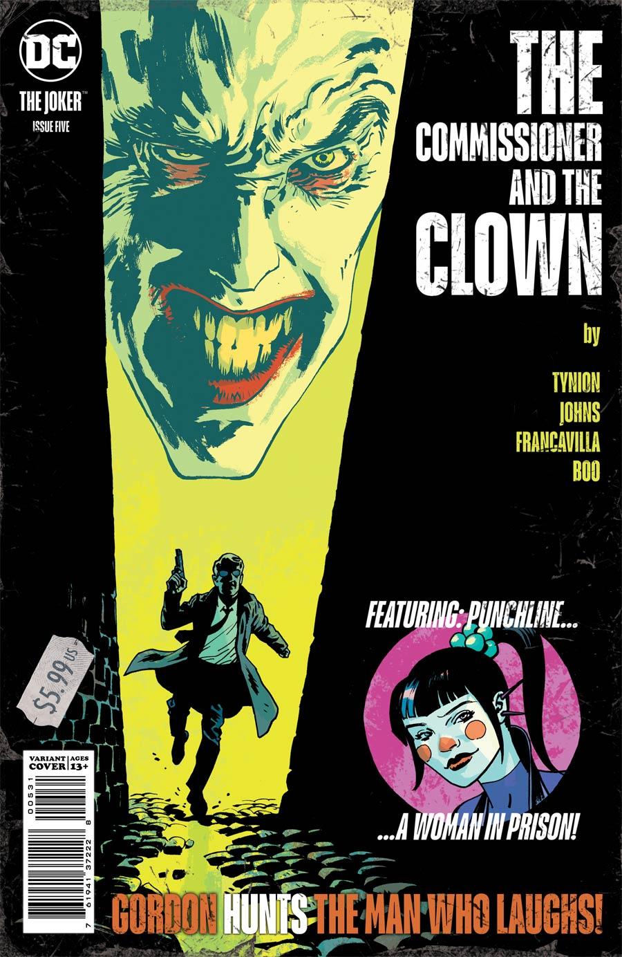 Joker Vol 2 #5 Cover C Variant Sean Phillips Cover