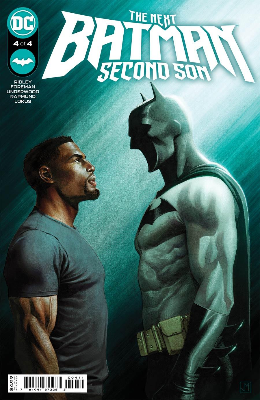 Next Batman Second Son #4 Cover A Regular Jorge Molina Cover