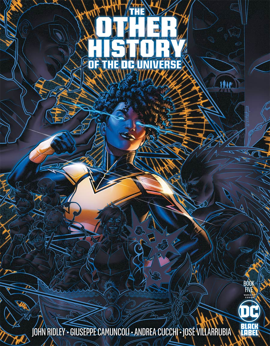 Other History Of The DC Universe #5 Cover B Variant Jamal Campbell Cover