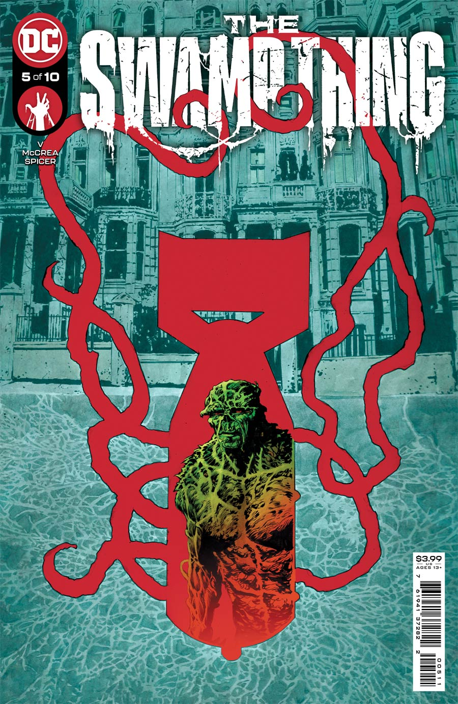 Swamp Thing Vol 7 #5 Cover A Regular Mike Perkins Cover