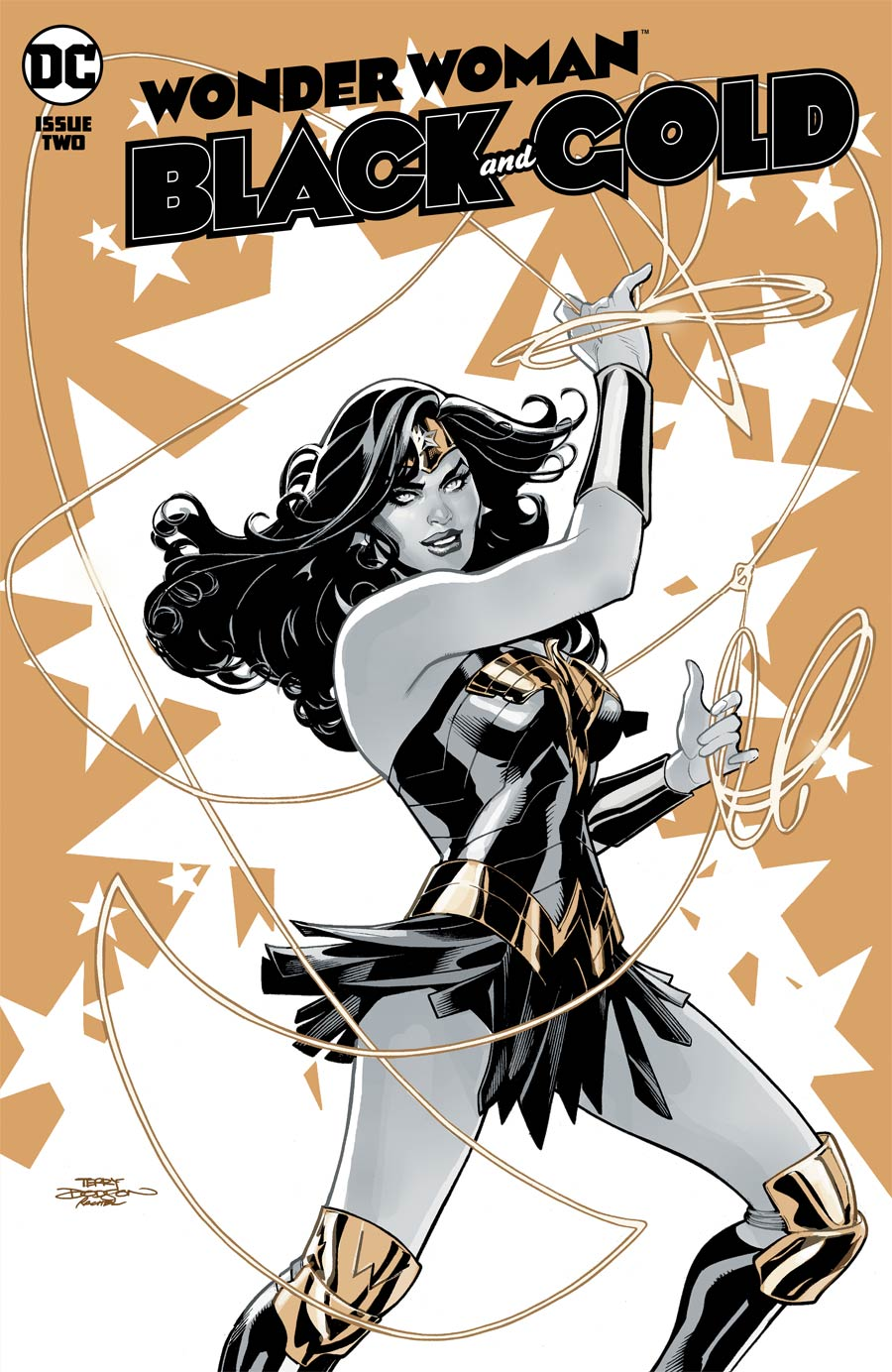 Wonder Woman Black & Gold #2 Cover A Regular Terry Dodson Cover