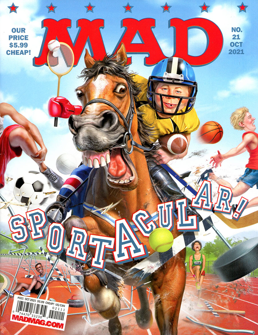 All-New MAD Magazine #21