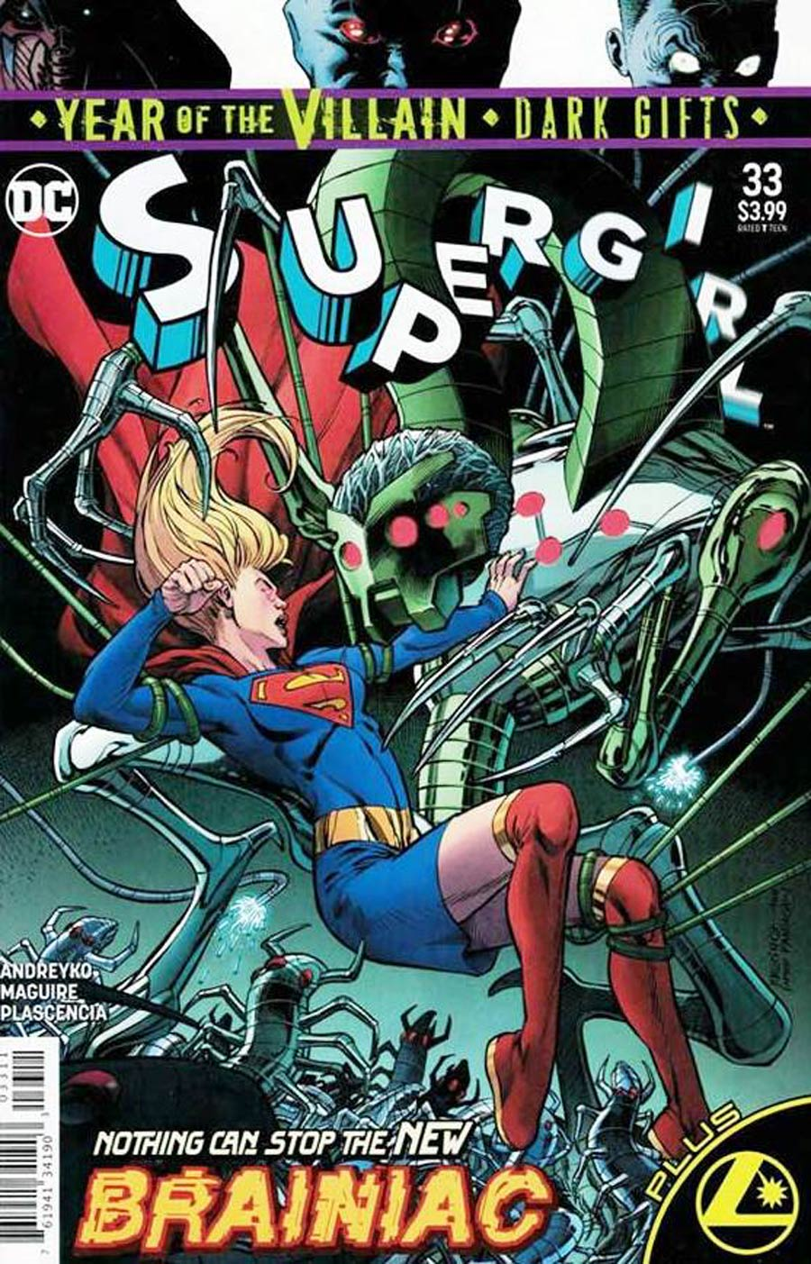 Supergirl Vol 7 #33 Cover C Recalled Edition