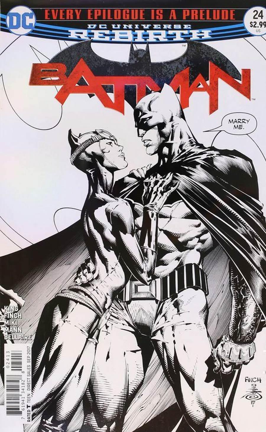 Batman vol 3 #24 Cover E 3rd Printing