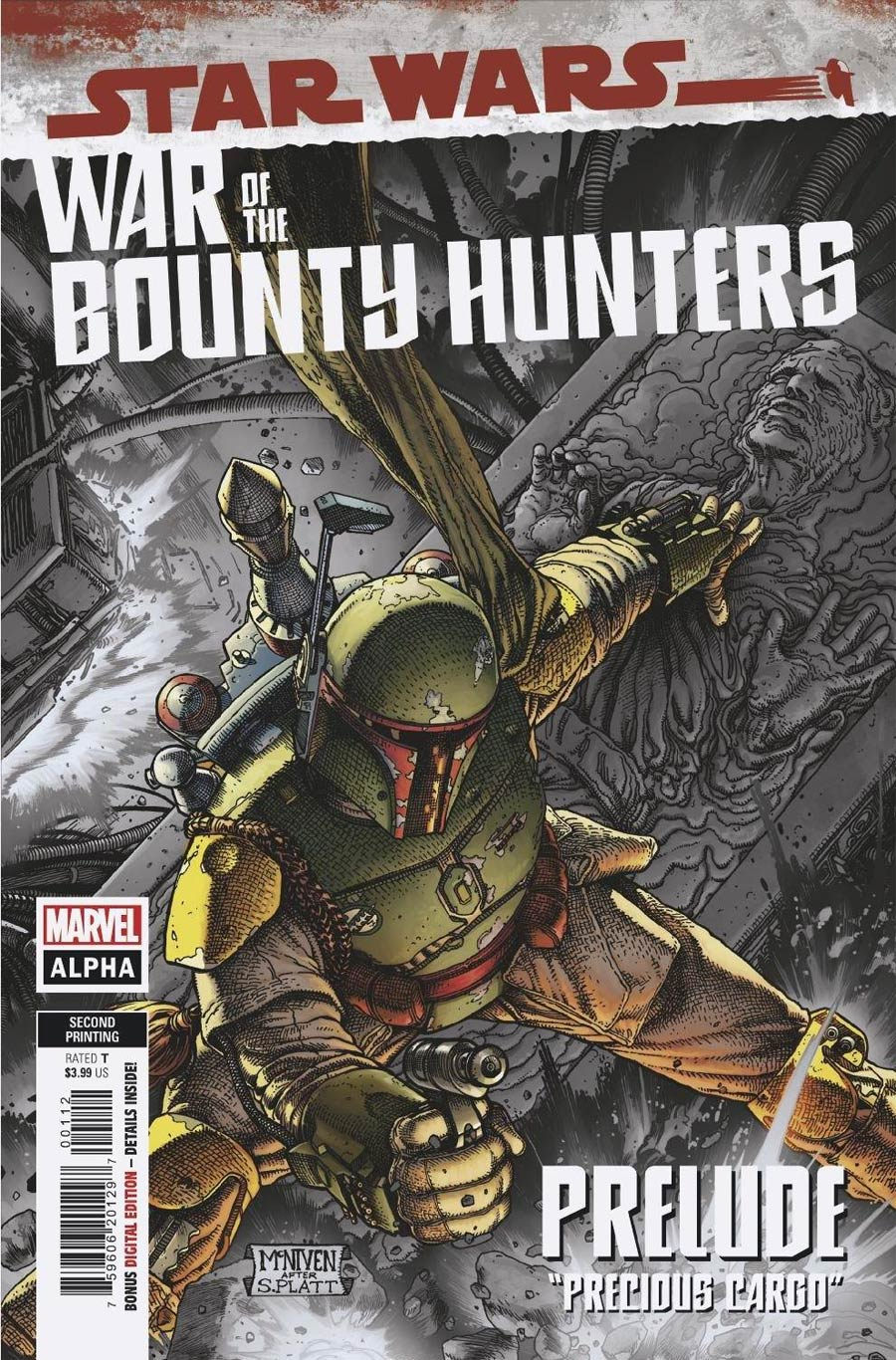 Star Wars War Of The Bounty Hunters Alpha #1 (One Shot) Cover H 2nd Ptg Variant Cover
