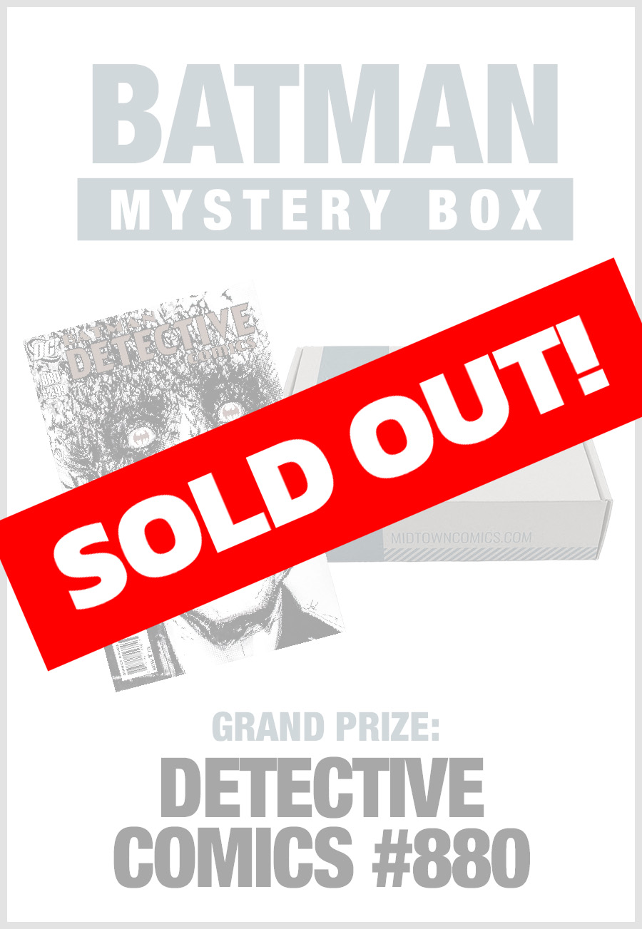 SOLD OUT - Midtown Comics Mystery Box - Batman (Purchase for a chance to win Detective Comics Vol 2 #1000 signed by FRANK MILLER)