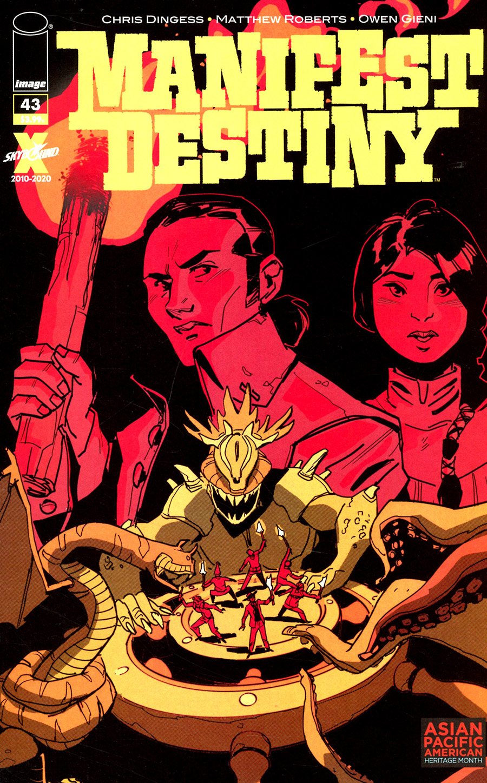 Manifest Destiny #43 Cover B Variant Alex Tefenkgi AAPI Cover