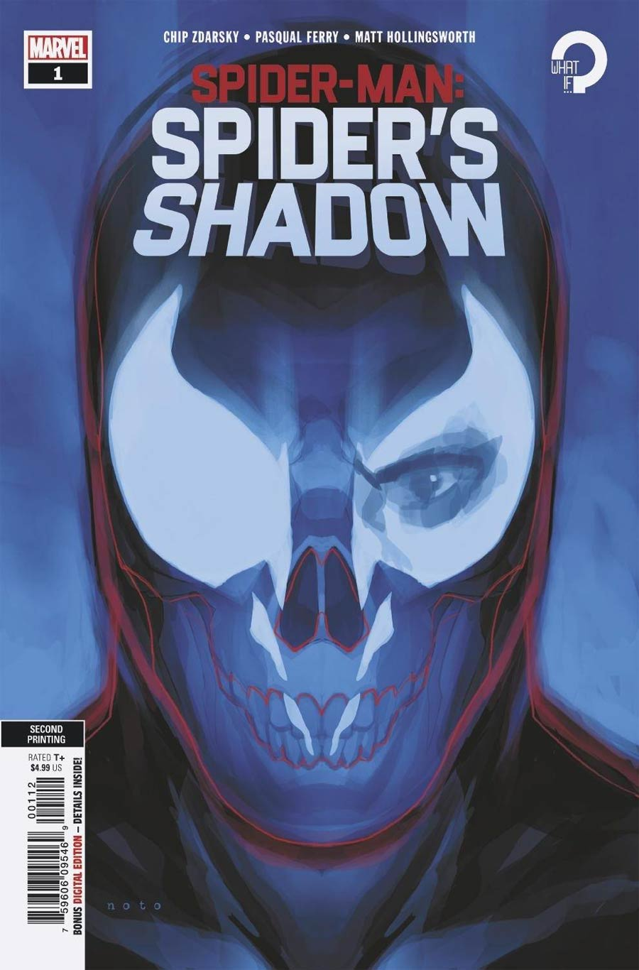 Spider-Man Spiders Shadow #1 Cover F 2nd Ptg Variant Cover