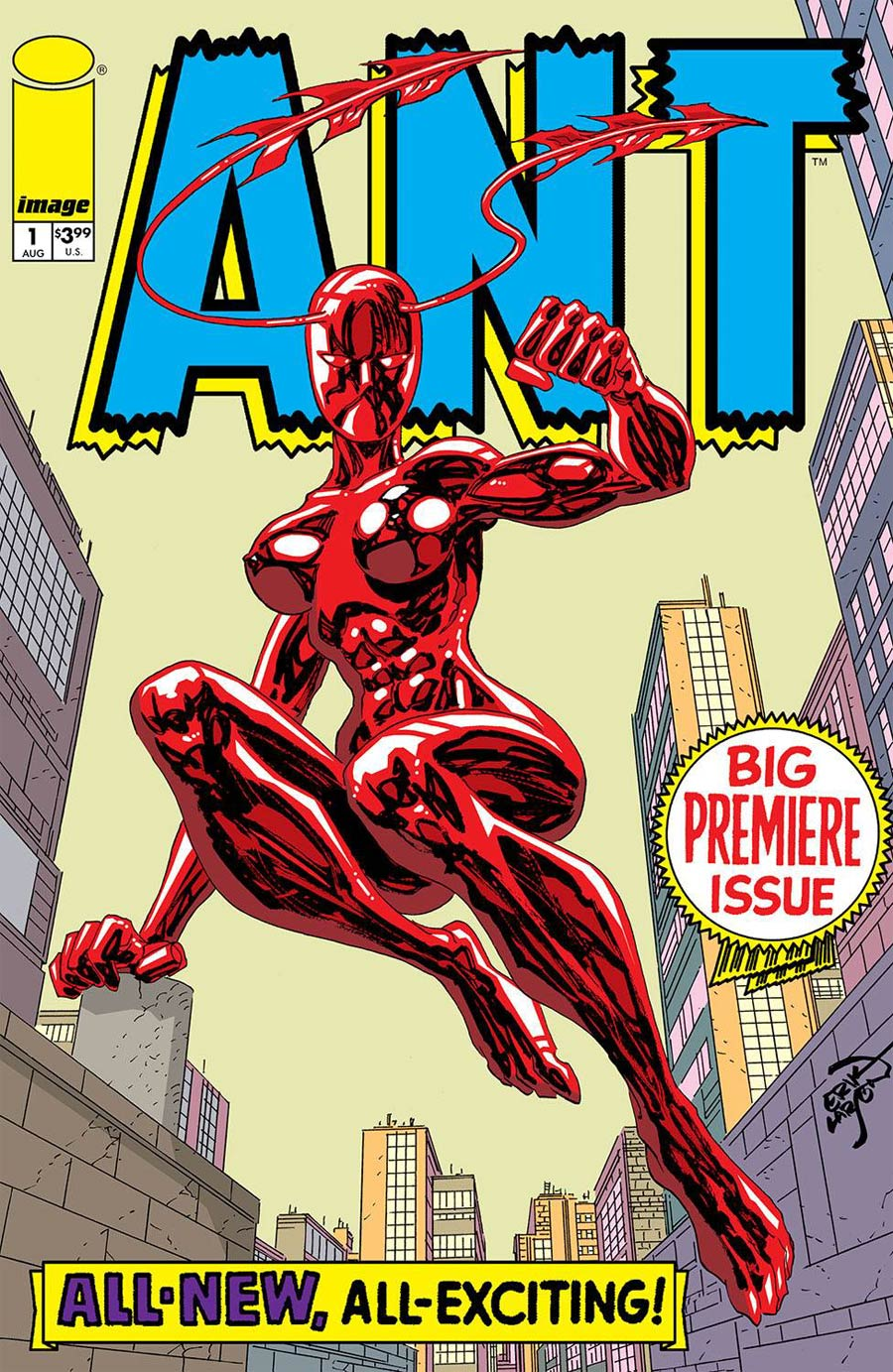 Ant Vol 3 #1 Cover A Regular Erik Larsen Cover