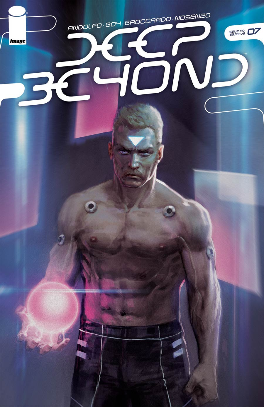 Deep Beyond #7 Cover C Variant Andrea Meloni Cover