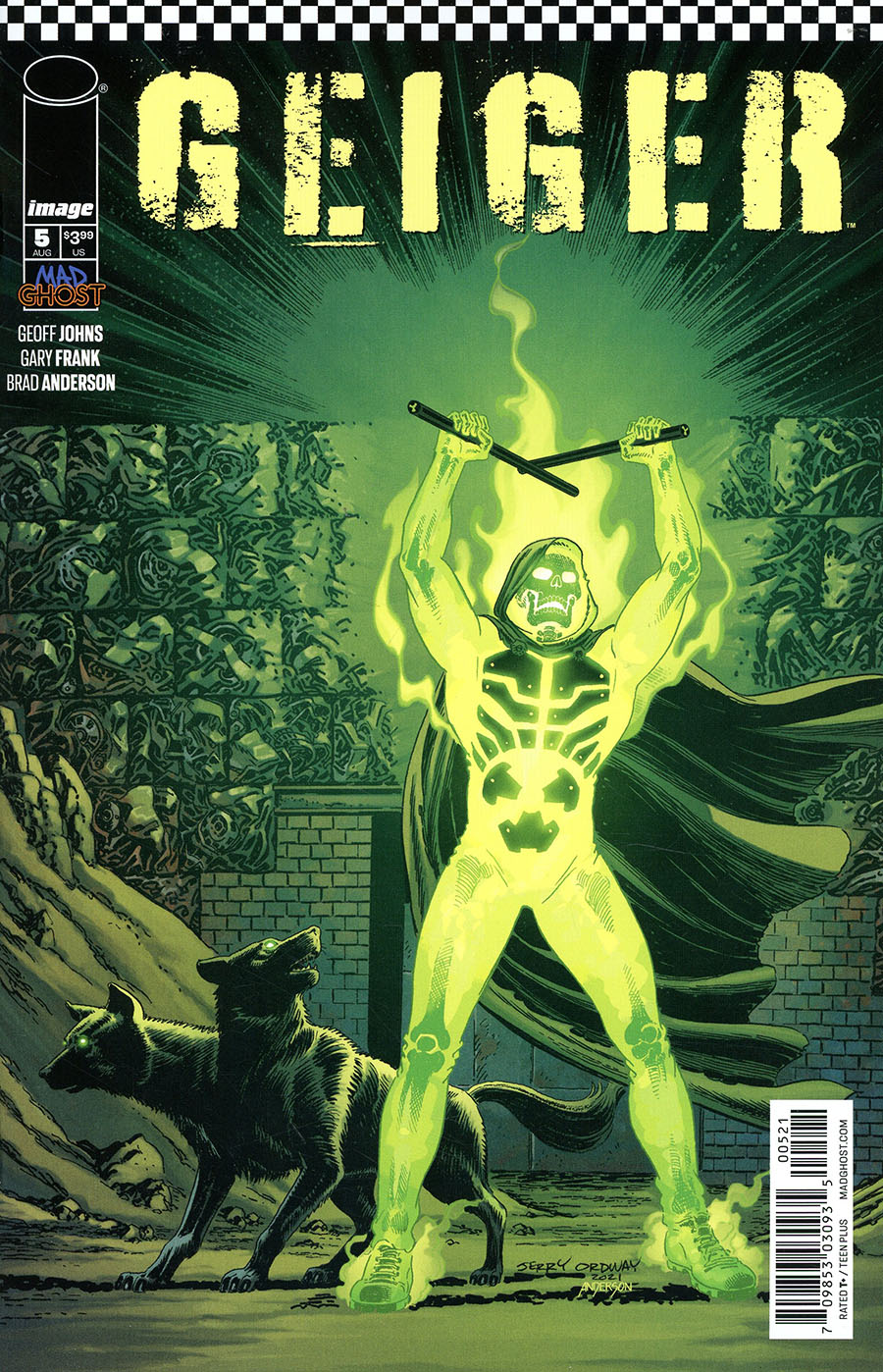 Geiger #5 Cover B Variant Jerry Ordway Cover
