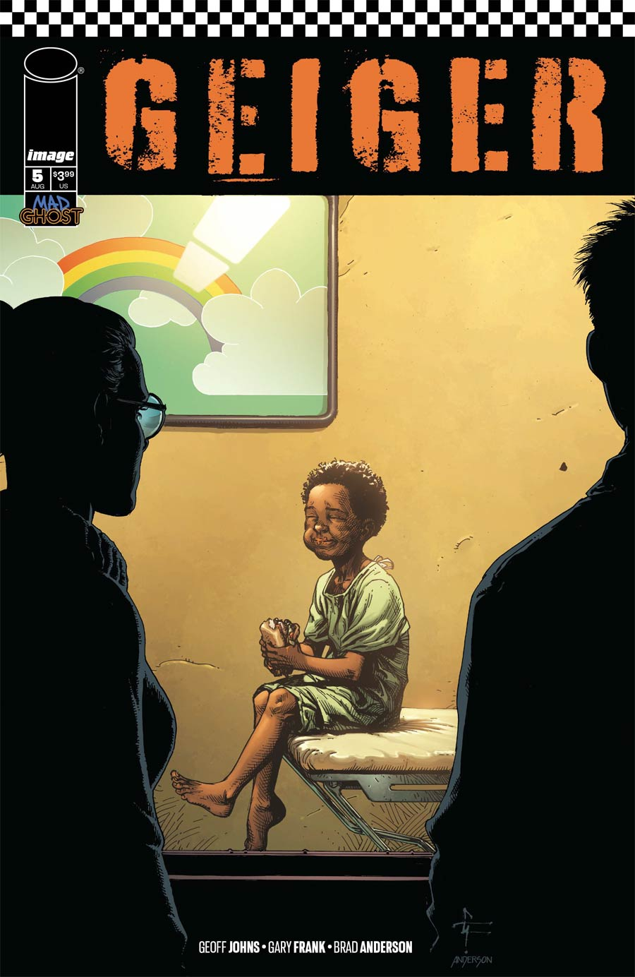 Geiger #5 Cover D Variant Gary Frank Cover