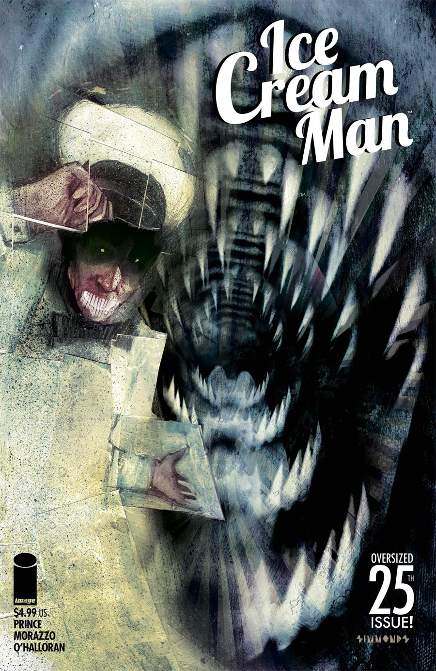 Ice Cream Man #25 Cover D Variant Martin Simmonds Cover