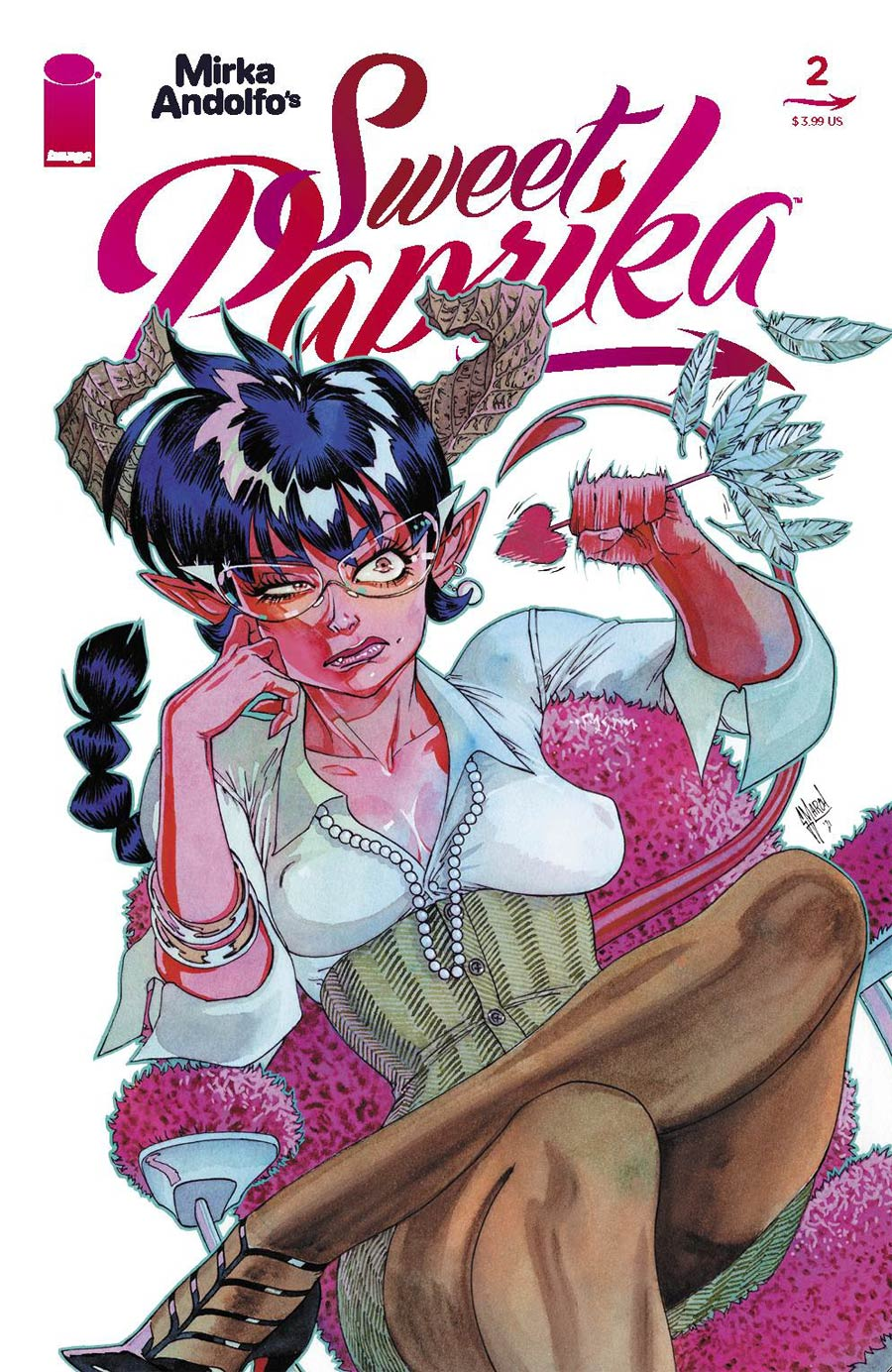 Mirka Andolfos Sweet Paprika #2 Cover C Variant Guillem March Cover (Limit 1 Per Customer)