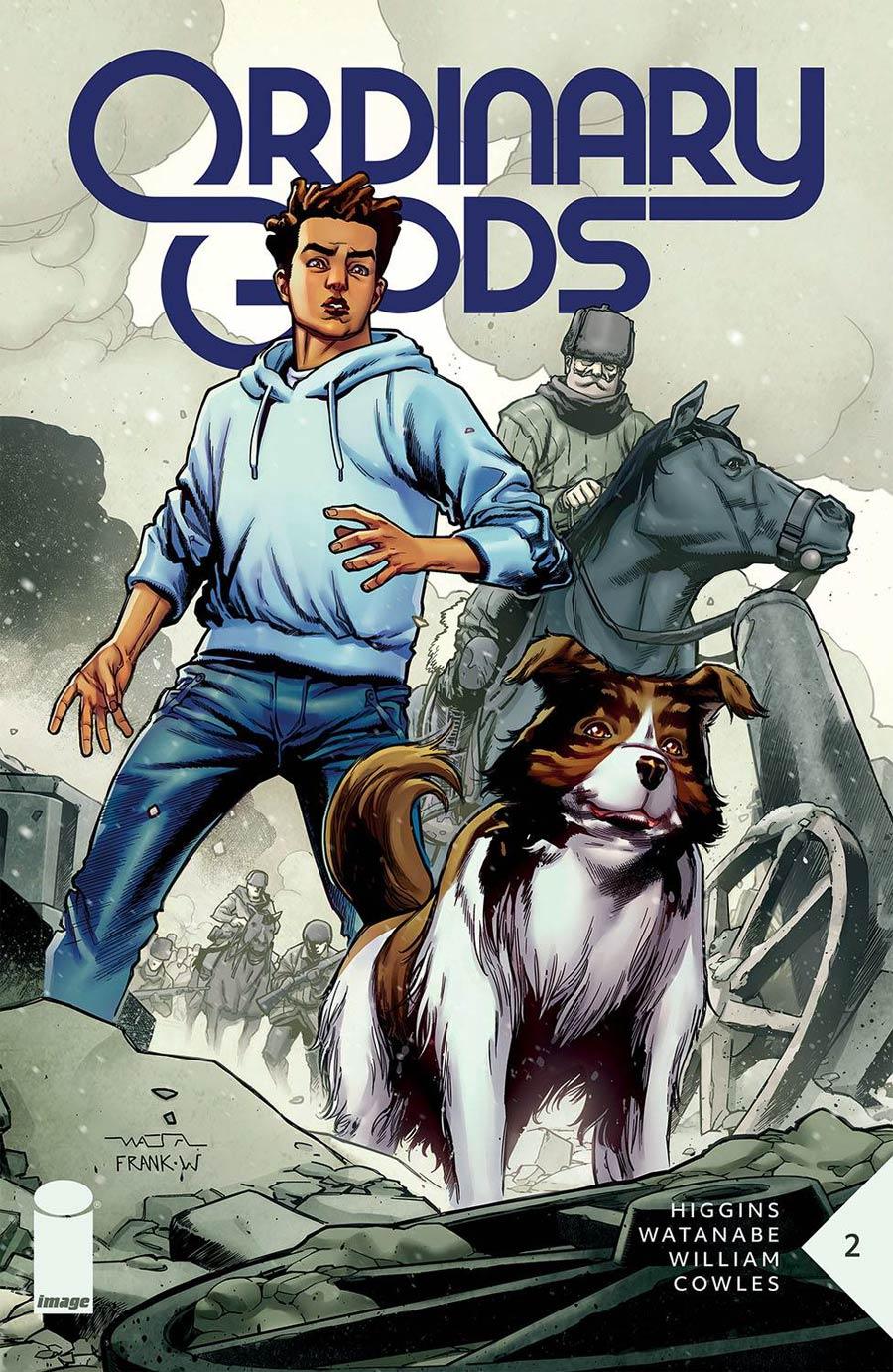 Ordinary Gods #2 Cover A Regular Felipe Watanabe Cover