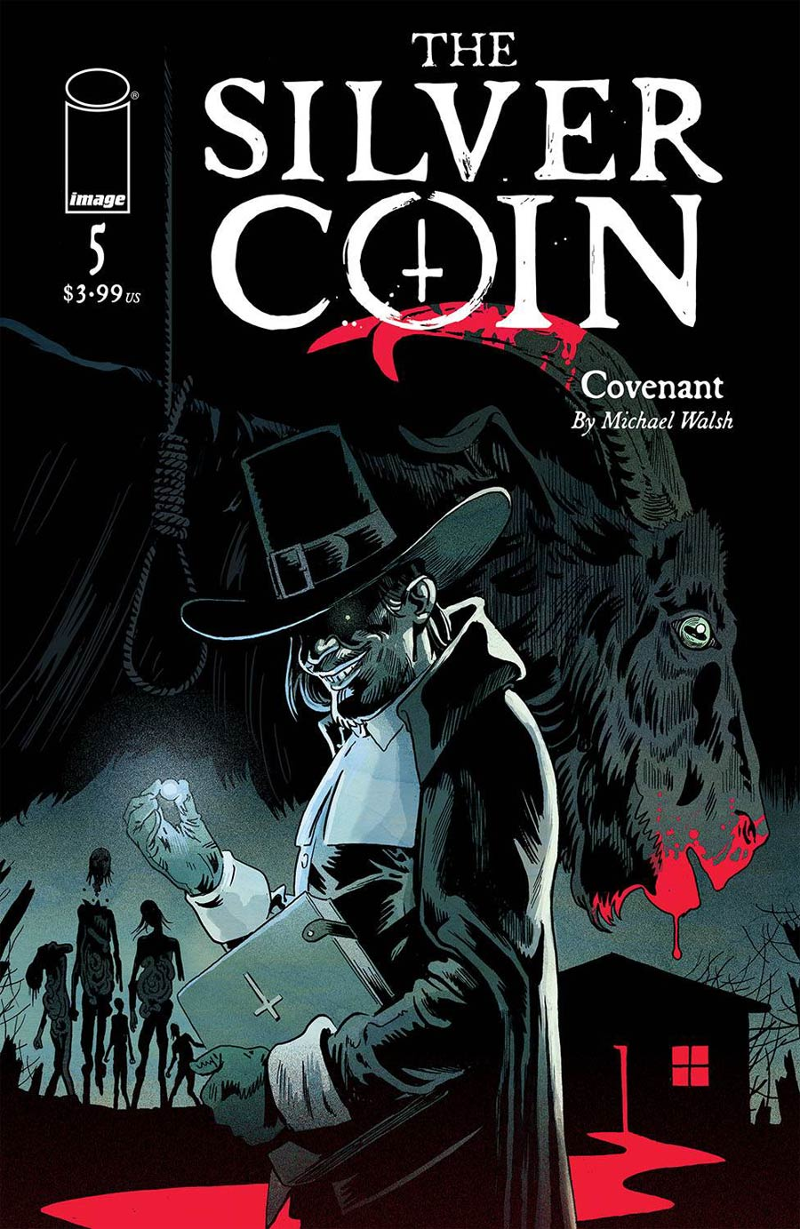 Silver Coin #5 Cover A Regular Michael Walsh Cover
