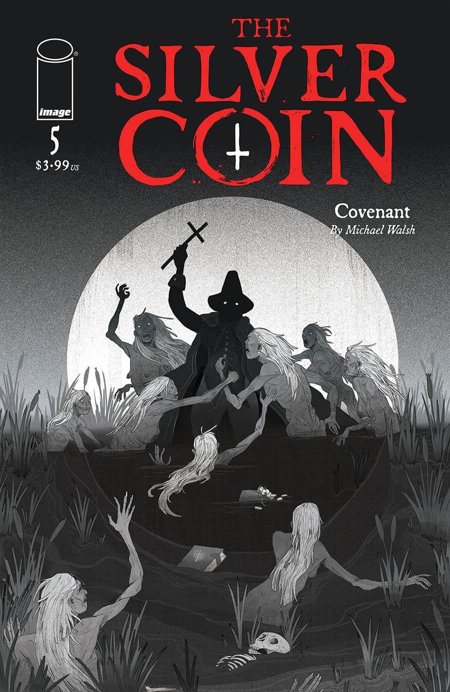 Silver Coin #5 Cover B Variant Maya McKibbin Cover