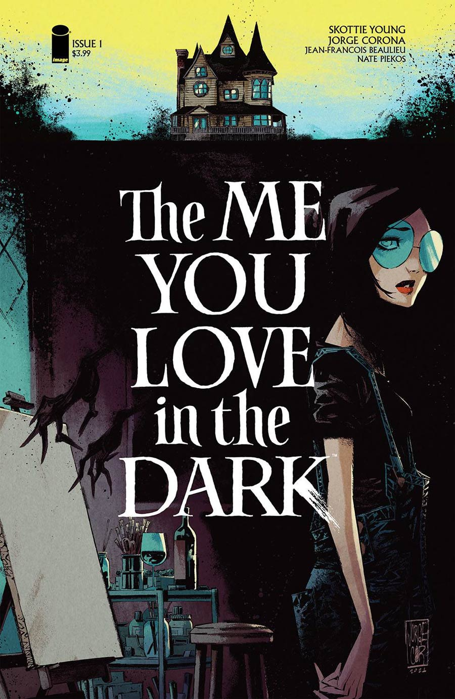 The Me You Love In The Dark #1 Cover A Regular Jorge Corona Cover (Limit 1 Per Customer)