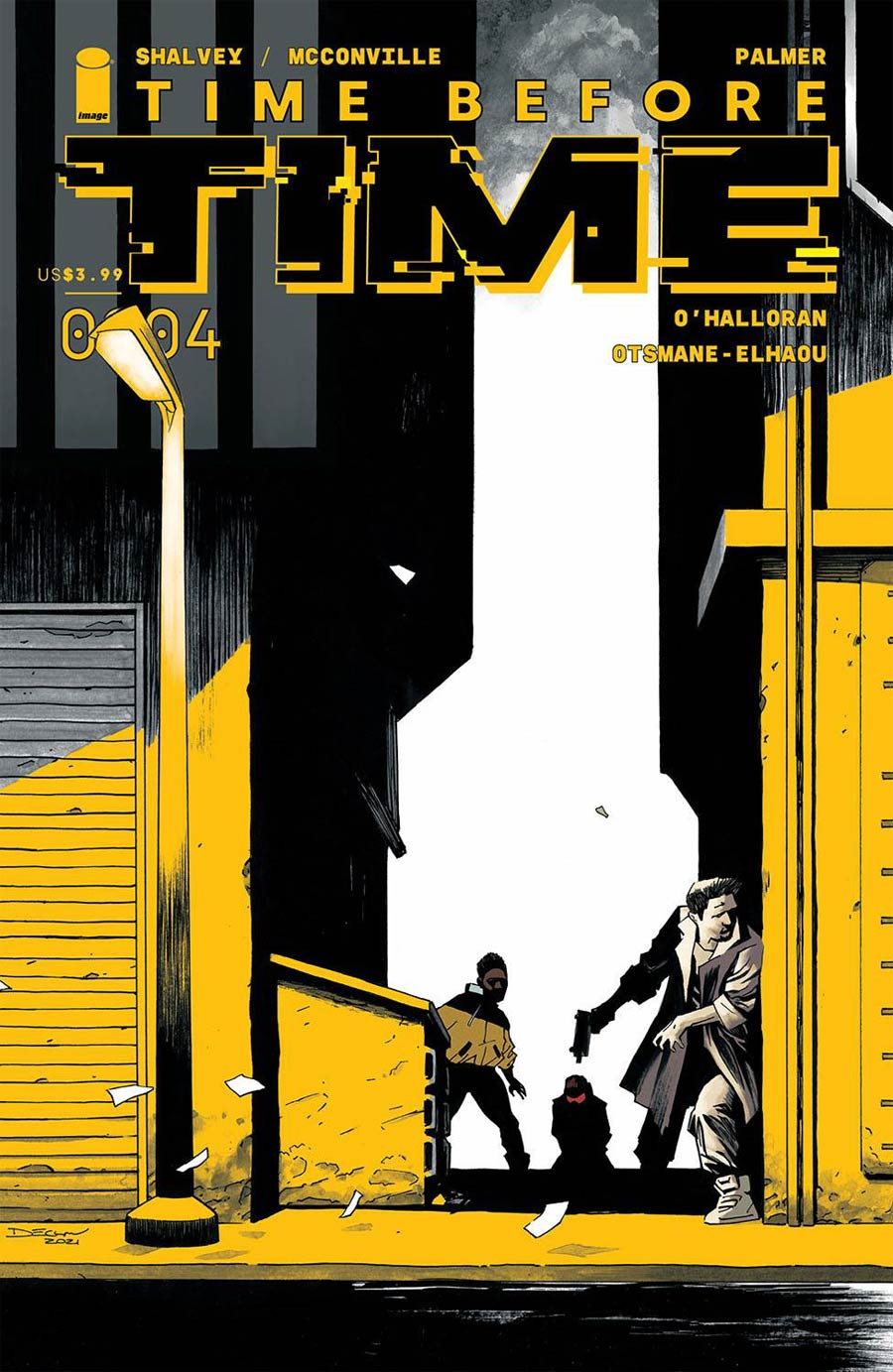 Time Before Time #4 Cover A Regular Declan Shalvey Cover