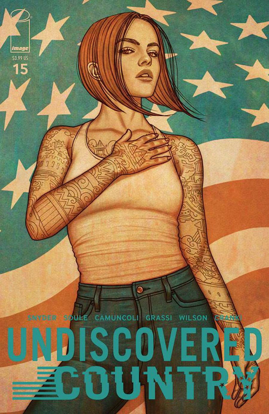 Undiscovered Country #15 Cover B Variant Jenny Frison Cover