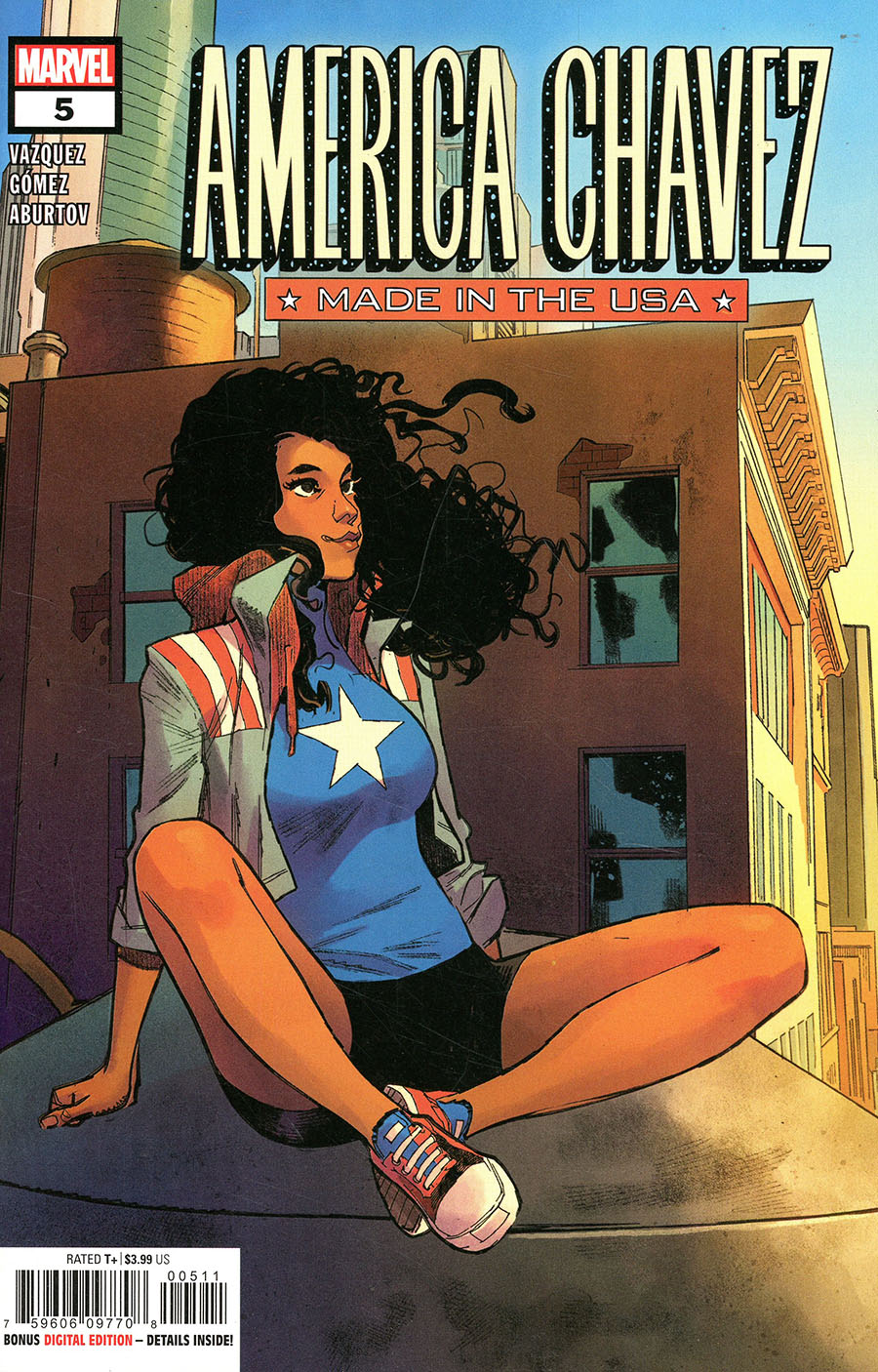 America Chavez Made In The USA #5 Cover A Regular Sara Pichelli Cover
