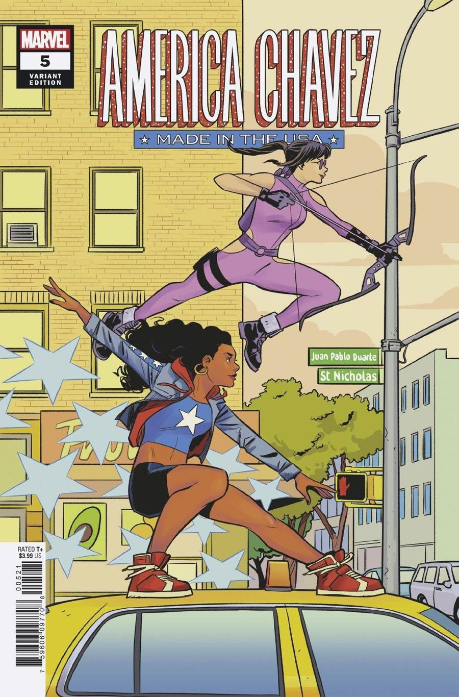 America Chavez Made In The USA #5 Cover B Variant Natacha Bustos Cover