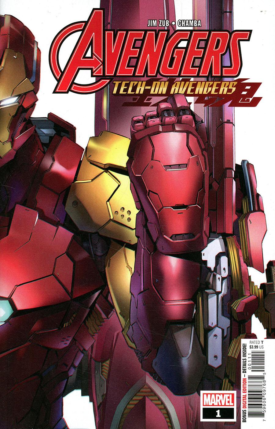 Avengers Tech-On Avengers #1 Cover A Regular Eiichi Shimizu Cover