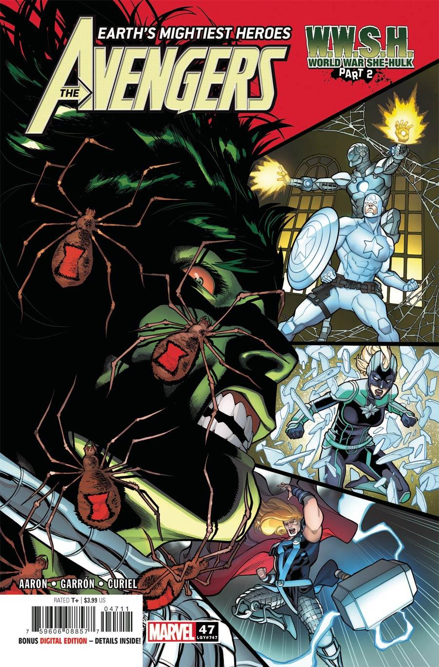 Avengers Vol 7 #47 Cover A Regular Javier Garron Cover