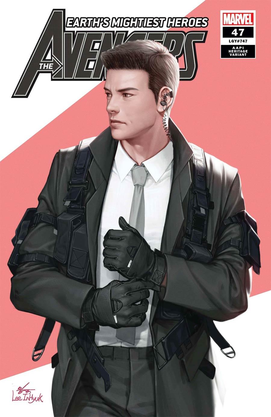Avengers Vol 7 #47 Cover B Variant Inhyuk Lee AAPI Heritage Cover