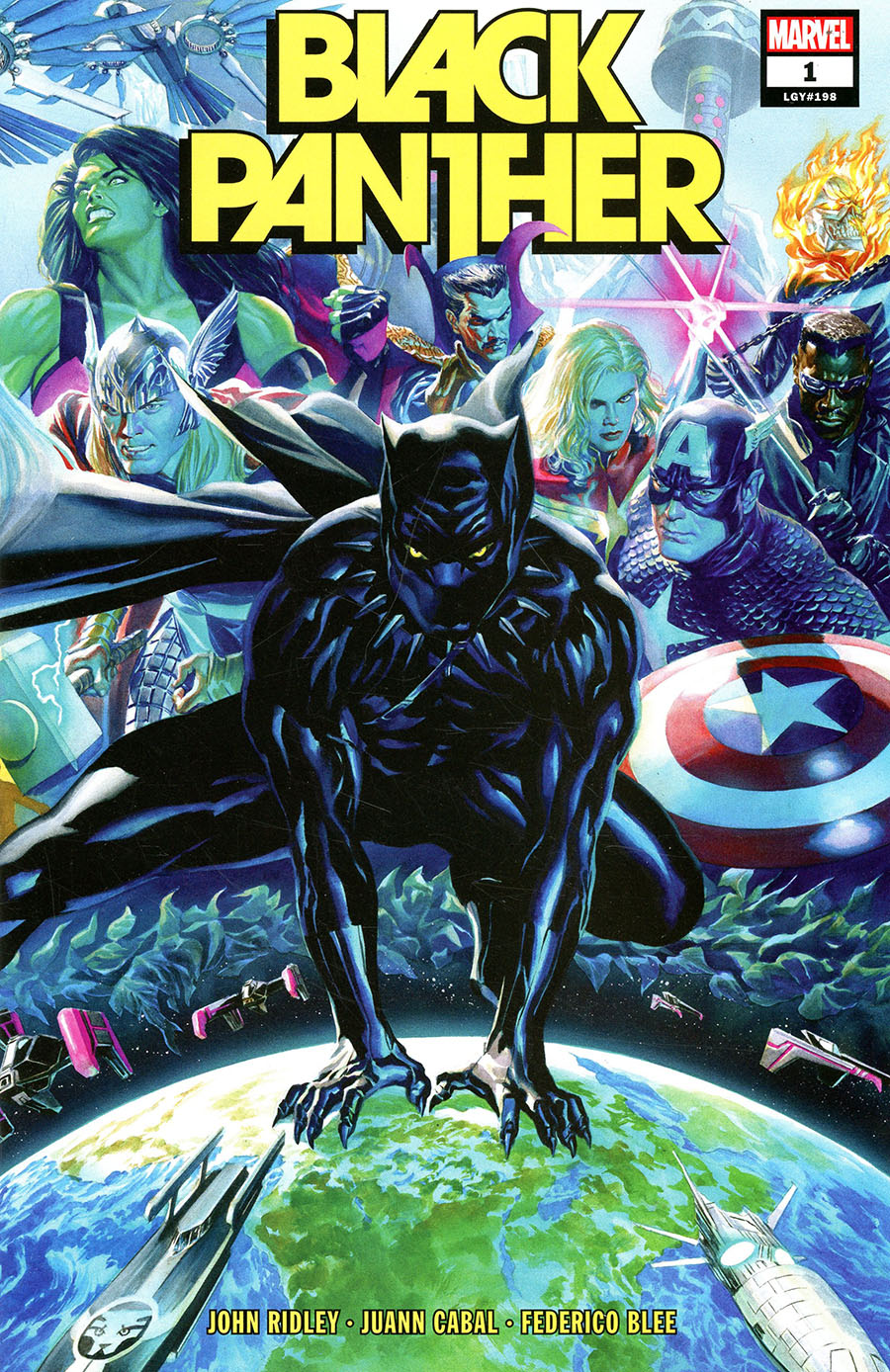 Black Panther Vol 8 #1 Cover A Regular Alex Ross Cover - RESOLICITED