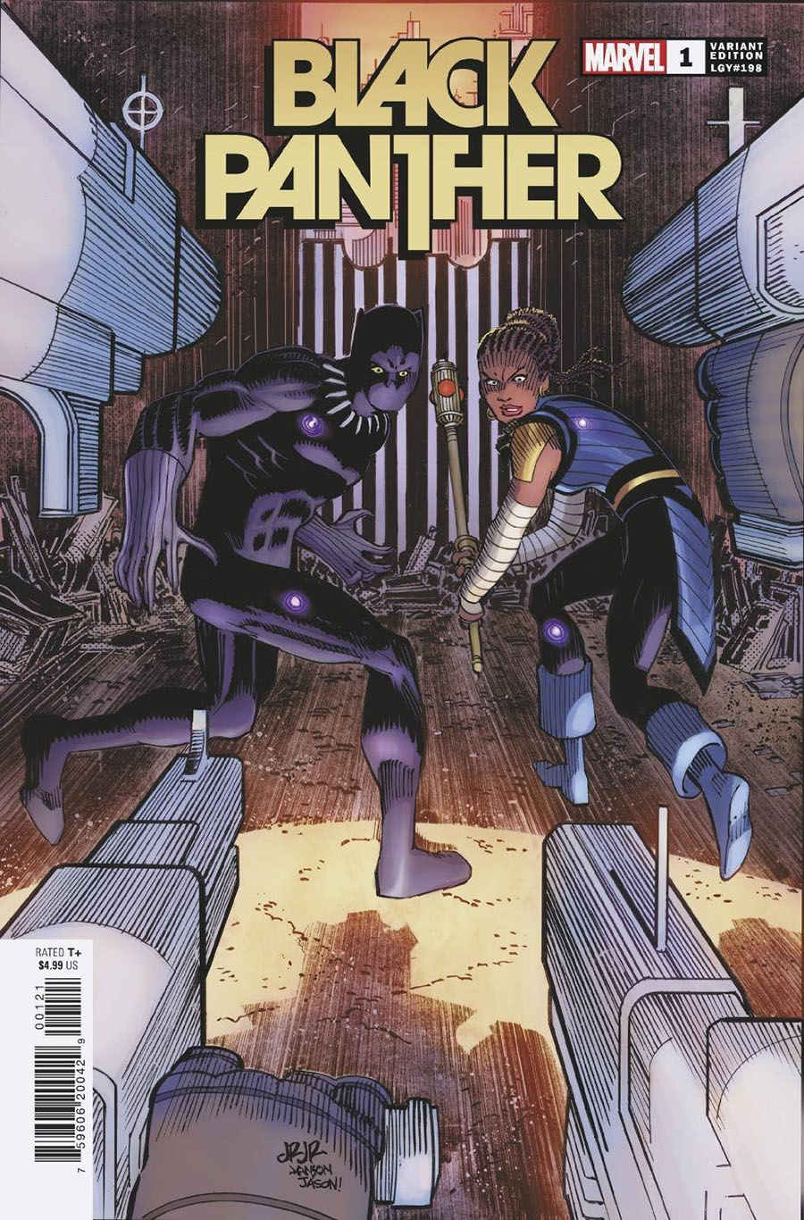 Black Panther Vol 8 #1 Cover C Variant John Romita Jr Cover - RESOLICITED