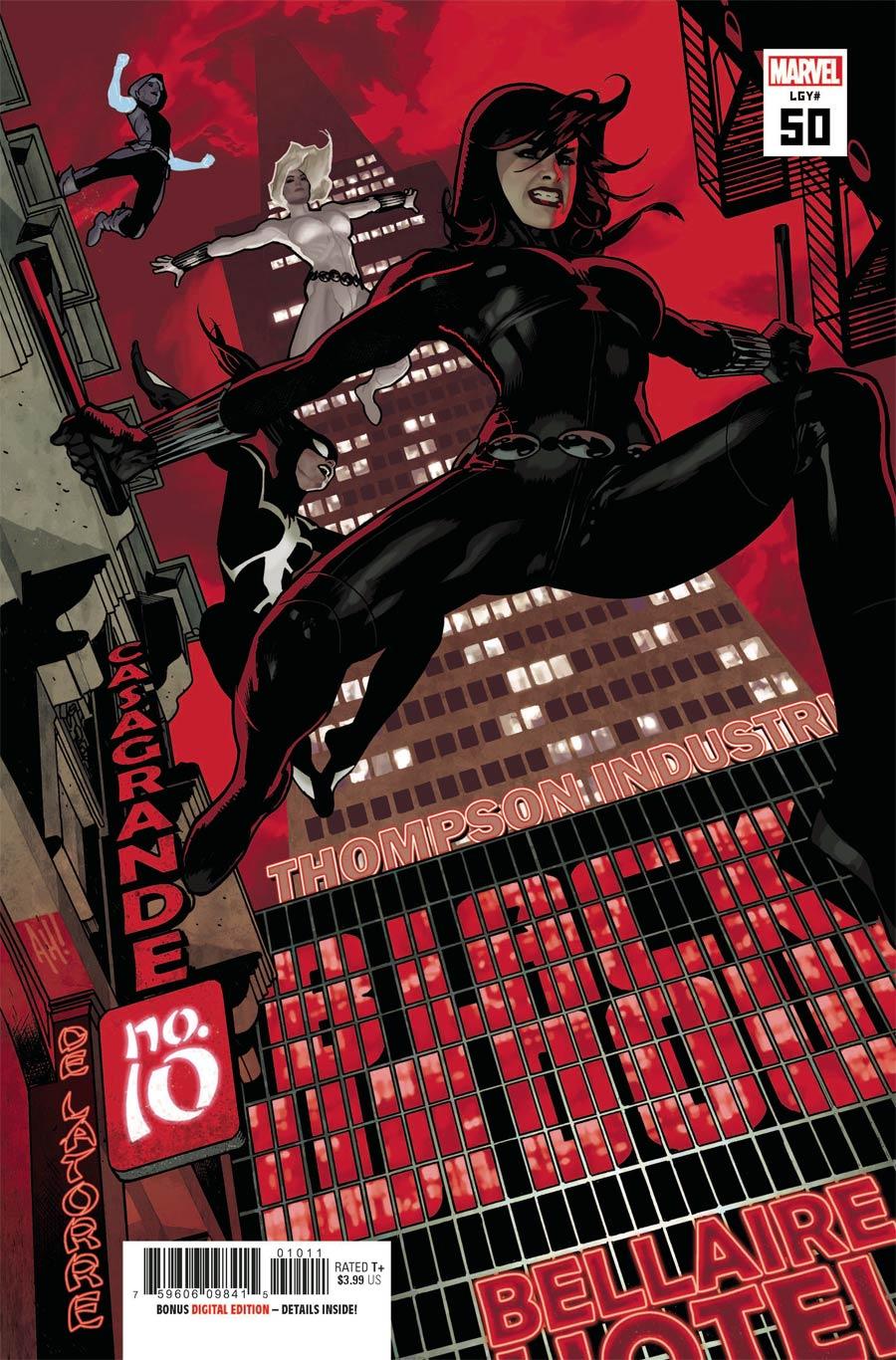 Black Widow Vol 8 #10 Cover A Regular Adam Hughes Cover