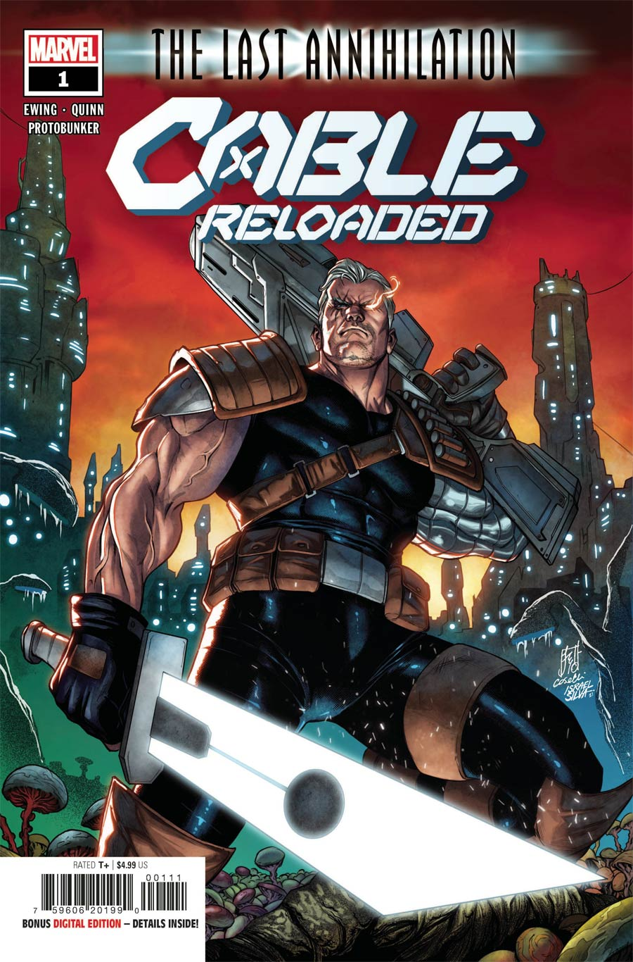 Cable Reloaded #1 (One Shot) Cover A Regular Stefano Caselli Cover (Last Annihilation Tie-In)