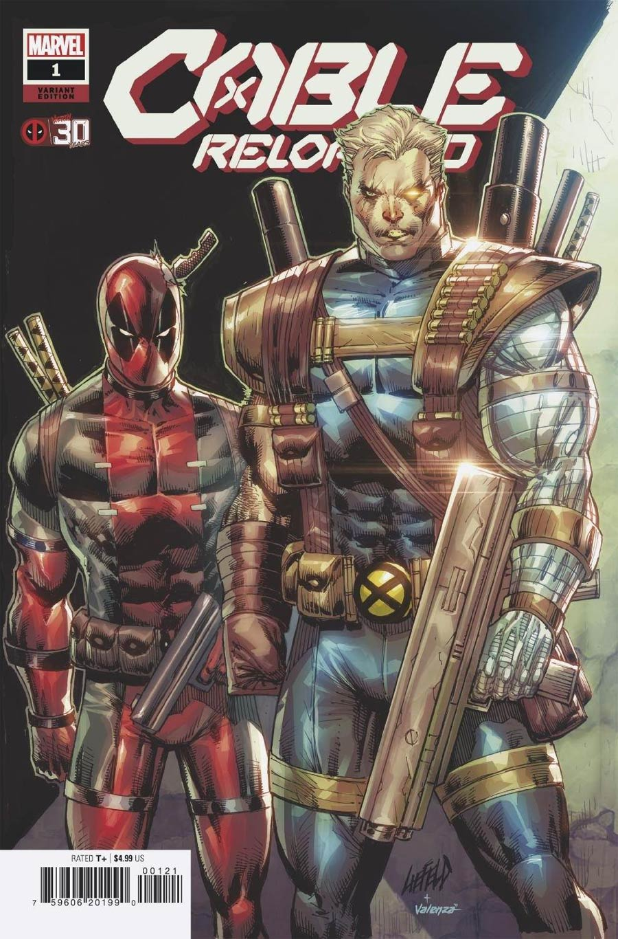 Cable Reloaded #1 (One Shot) Cover B Variant Rob Liefeld Deadpool 30th Anniversary Cover (Last Annihilation Tie-In)
