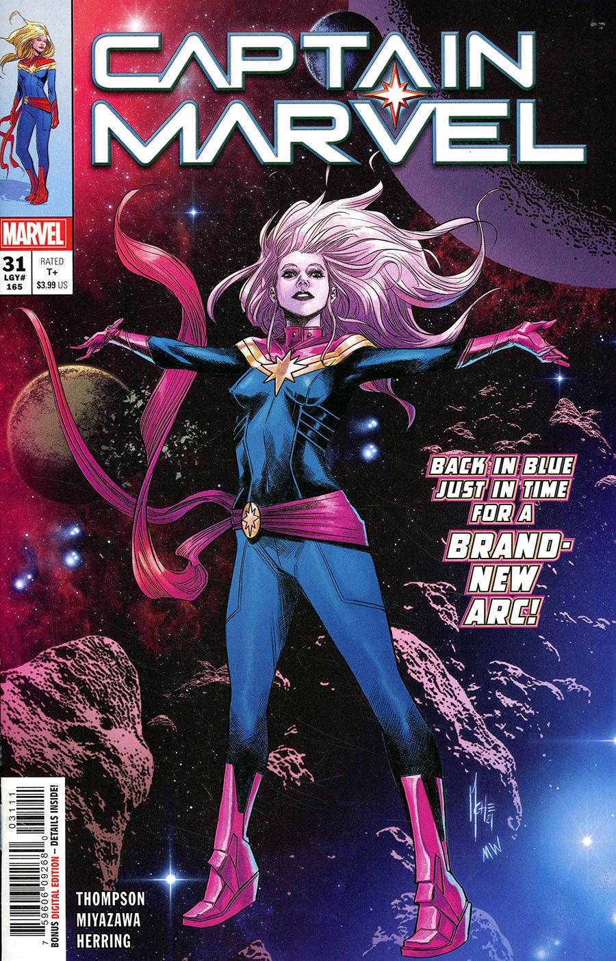 Captain Marvel Vol 9 #31 Cover A Regular Marco Checchetto Cover