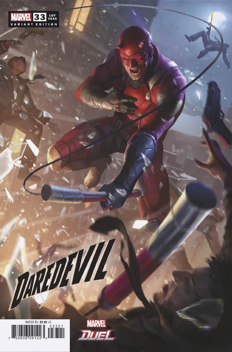 Daredevil Vol 6 #33 Cover B Variant NetEase Marvel Games Cover