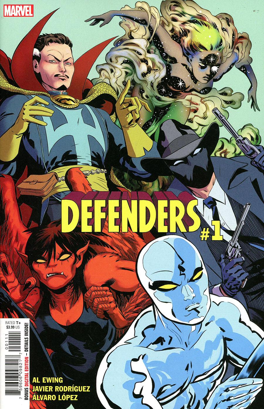 Defenders Vol 6 #1 Cover A Regular Javier Rodriguez Cover